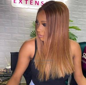 14 Inches Gold Mixed Hair Blend Wig Cap | Hair Beauty for sale in Greater Accra, Osu