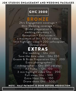 Wedding Photography and Videography | Photography & Video Services for sale in Greater Accra, Accra Metropolitan