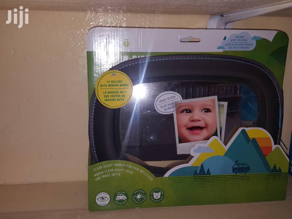 Archive: Brica Baby In-sight Car Mirror, Crash Tested And Shatter Resistant