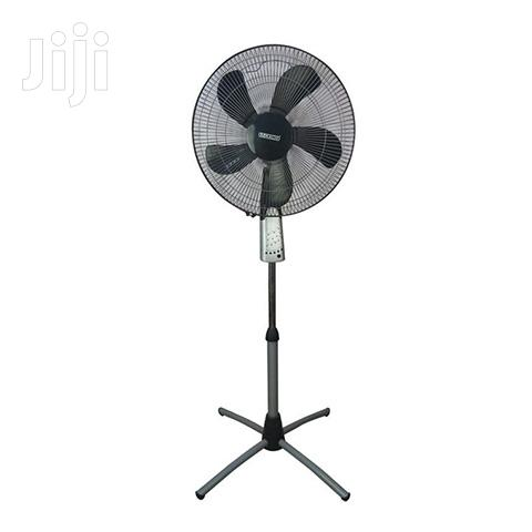 "Mikachi Standing Fan 16"" With Remote Control"
