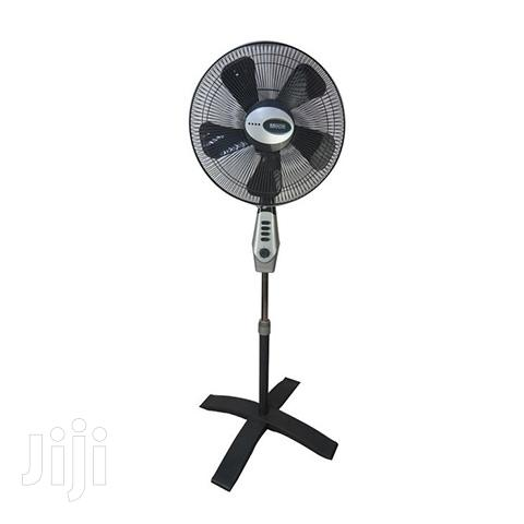 Mikachi Standing Fan Grey With Remote Control 16′′