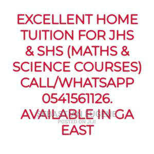 Excellent Home Tuition for JHS SHS | Child Care & Education Services for sale in Greater Accra, Ga East Municipal