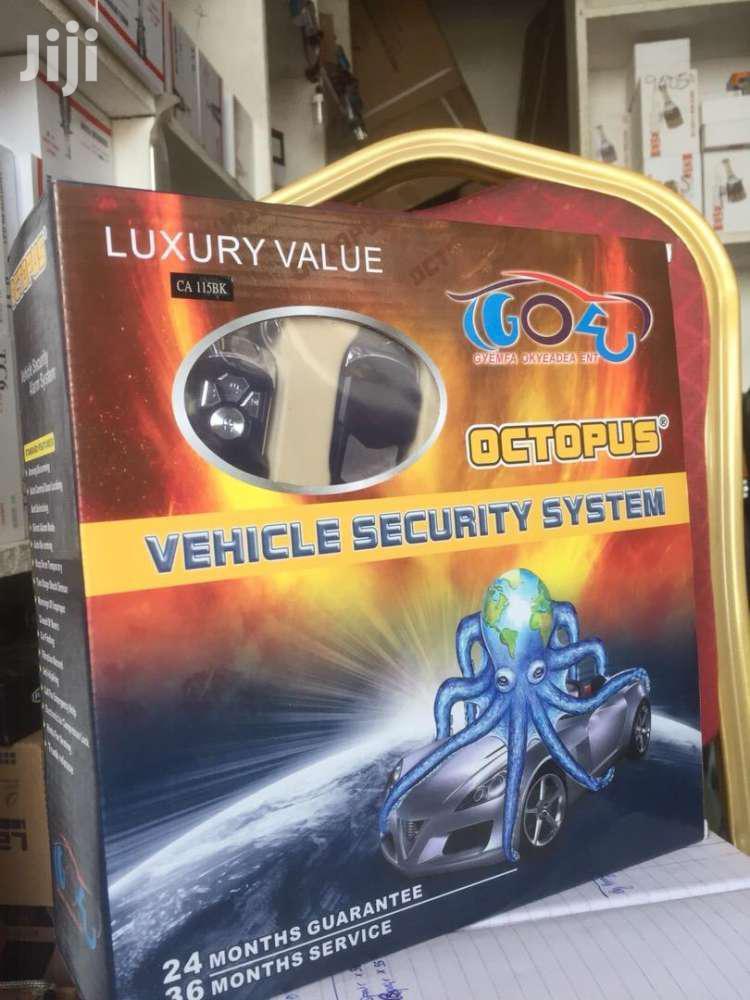 Archive: Octopus Car Alarm Kit