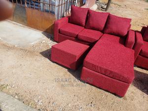 Brand New Quality Italian L Shape Sofa   Furniture for sale in Greater Accra, Adjiriganor