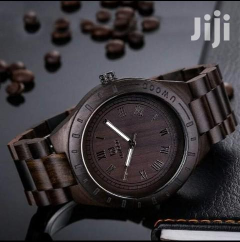 U Wood Coffee Luxury Unisex Watch