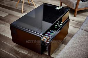 Modern Tech Center Table With a Fridge | Furniture for sale in Greater Accra, Alajo