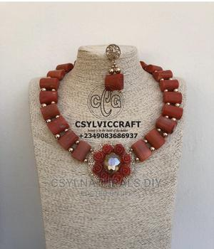Necklace ( Coral Necklace) Beaded Jewelry | Jewelry for sale in Greater Accra, Accra Metropolitan