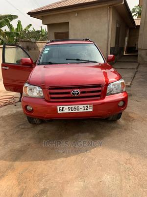 Toyota Highlander 2007 Limited V6 Red | Cars for sale in Greater Accra, Ga South Municipal