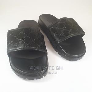 Gucci Mens Slide Pam Slippers   Shoes for sale in Greater Accra, Ashaiman Municipal