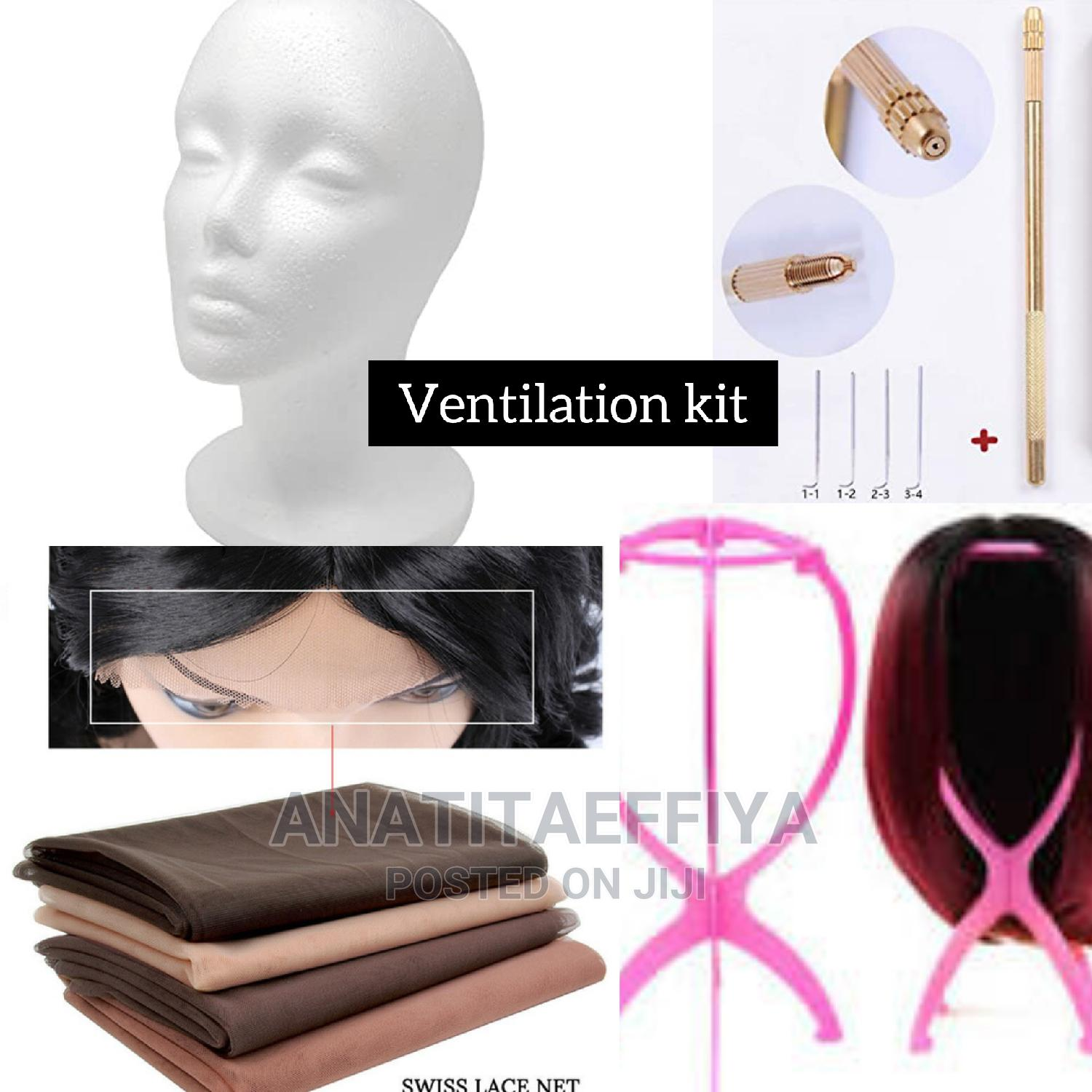 Ventilation Holder and Needle for Makingclosure and Frontals | Hair Beauty for sale in Accra Metropolitan, Greater Accra, Ghana