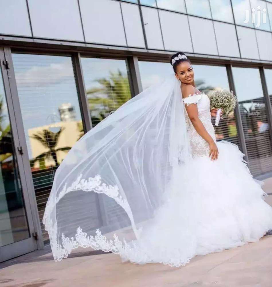 Elegant Wedding Gown + Free Veil