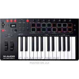 M-Audio Oxygen Pro 25-Key USB MIDI Keyboard With Beat Pads   Musical Instruments & Gear for sale in Greater Accra, Accra Metropolitan