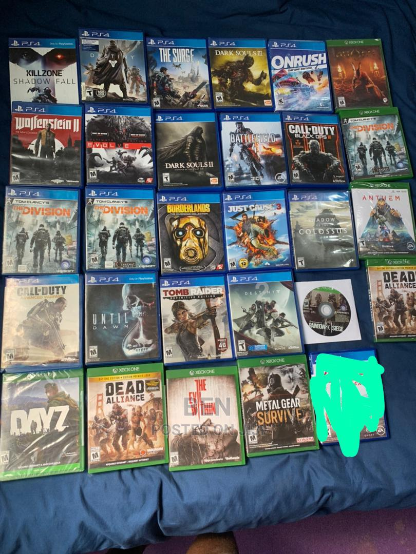 Slightly Used PS4 Games
