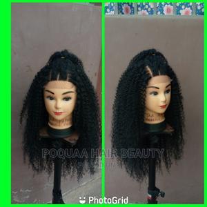 "24"" Brazilian Wet Curls,4×4 3parts Closure Cap | Hair Beauty for sale in Ashanti, Sekyere East"