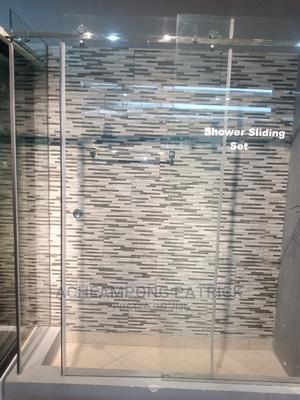 Trusted Shower Glass Partition | Building & Trades Services for sale in Greater Accra, Mataheko