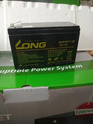 Long Ups Battery 12v 7ah | Computer Hardware for sale in Greater Accra, Dworwulu