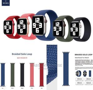 Wiwu Braided Stretchy Solo Loop Apple Watch Strap   Smart Watches & Trackers for sale in Greater Accra, Accra Metropolitan