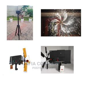 Spiral Fireworks Machine With Free Stand   Stage Lighting & Effects for sale in Greater Accra, Accra Metropolitan