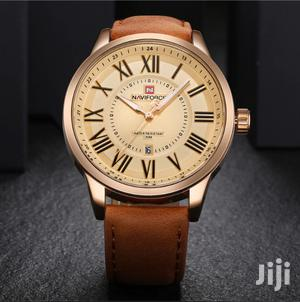 Brown Leather Naviforce Watch   Watches for sale in Greater Accra, Akweteyman