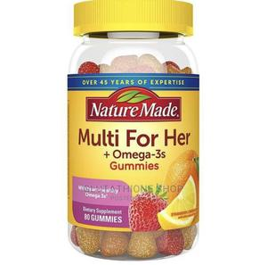 Nature Made Multi for Her + Omega Gummies | Vitamins & Supplements for sale in Greater Accra, East Legon