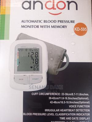 Andon Automatic Blood Pressure Monitor   Medical Supplies & Equipment for sale in Greater Accra, Tema Metropolitan