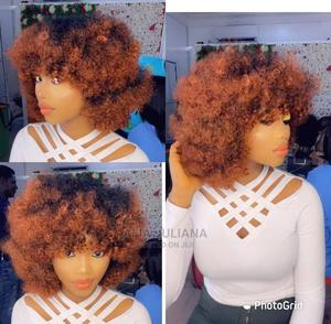 Bouncy Curls With Two Tones Wig Cap | Hair Beauty for sale in Greater Accra, Osu