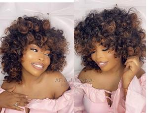 Bouncy Curls With Fringe Wig Cap | Hair Beauty for sale in Greater Accra, Osu