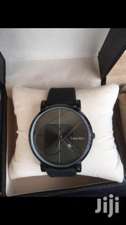 Ck Black Leather Watch | Watches for sale in Ashanti, Kumasi Metropolitan