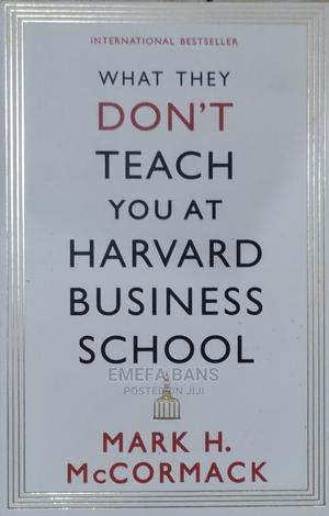 What They Don't Teach You at Harvard Business School   Books & Games for sale in Greater Accra, Spintex