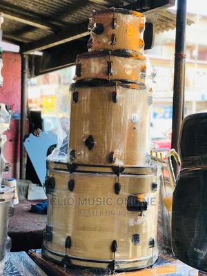 PZ 22-Inch 5 Piece Full Size Complete Adult Drumset (Cream)   Musical Instruments & Gear for sale in Greater Accra, Accra Metropolitan