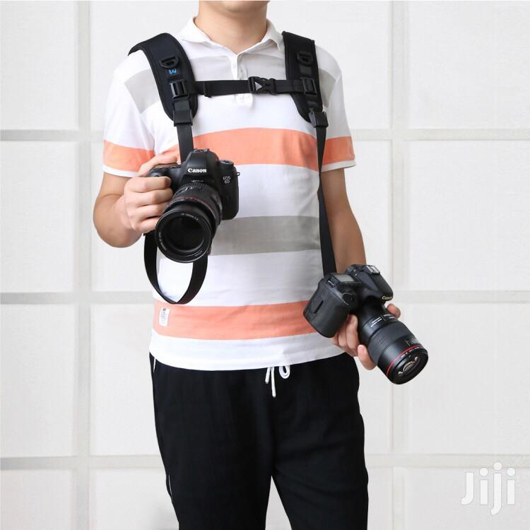Quick Release Double Shoulder Strap Belt For DSLR Digital Cameras | Photo & Video Cameras for sale in Accra Metropolitan, Greater Accra, Ghana