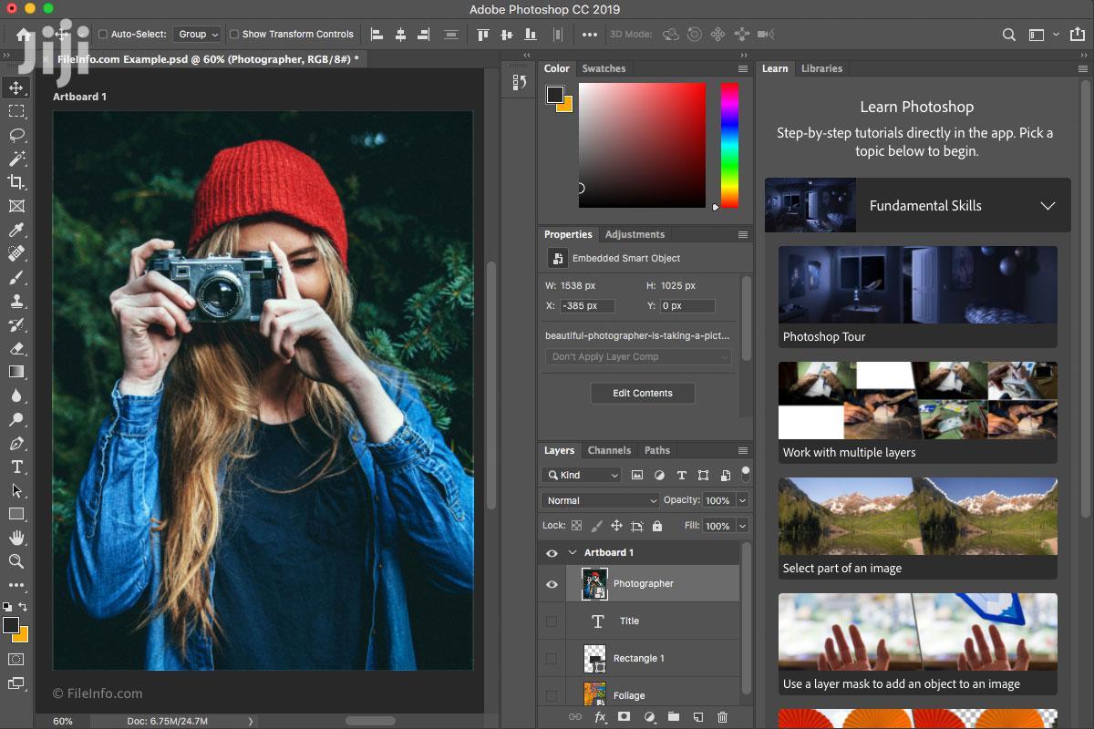 Adobe Photoshop CC 2019 Hot | Software for sale in Kumasi Metropolitan, Ashanti, Ghana