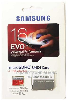 Samsung Evo 16gb Memory Card | Accessories for Mobile Phones & Tablets for sale in Greater Accra, Tesano