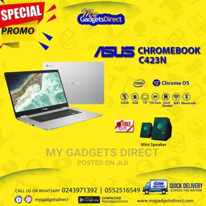 New Laptop Asus Chromebook C423 4GB Intel HDD 60GB   Laptops & Computers for sale in Greater Accra, Dansoman