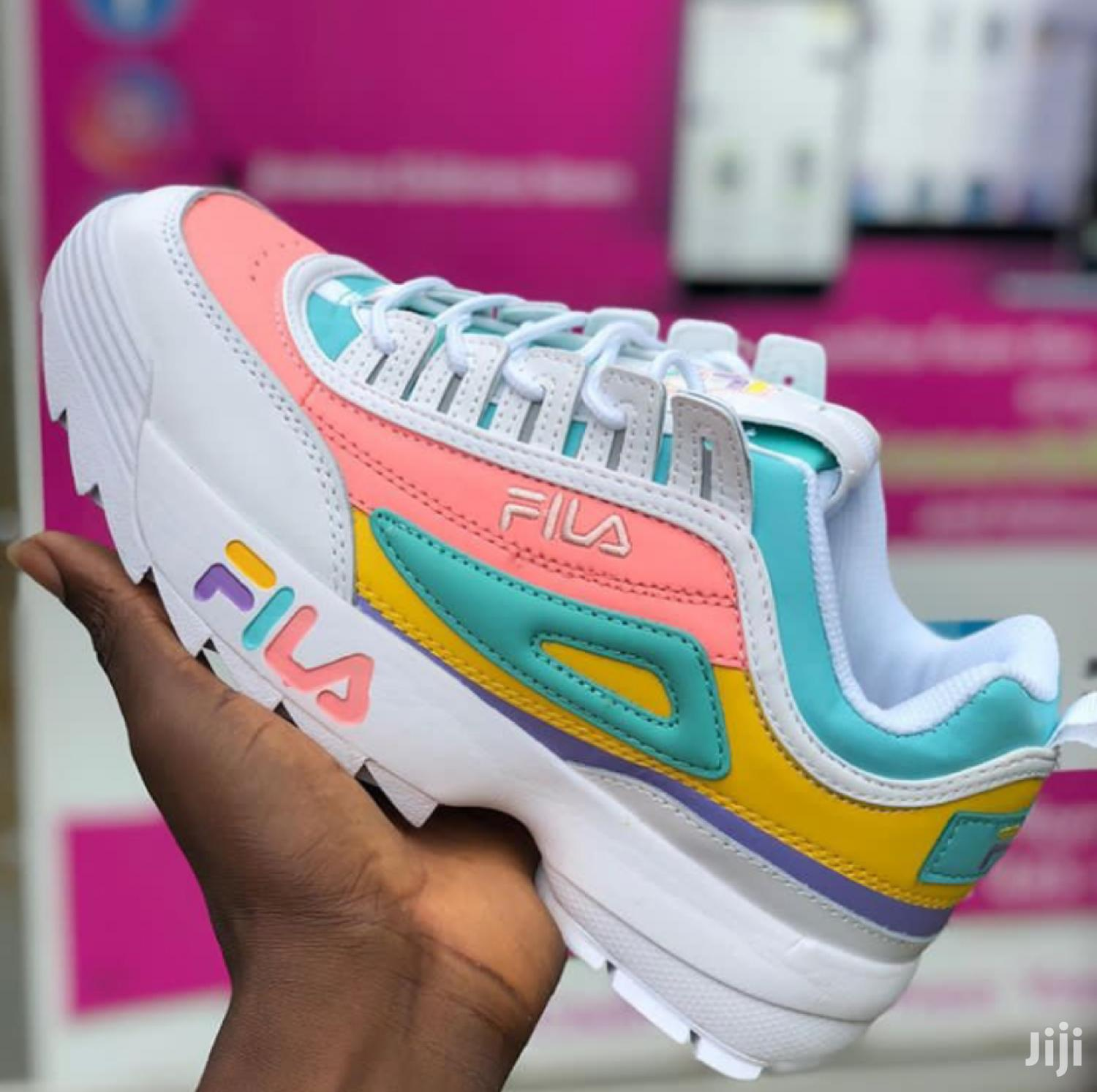 Original Fila Disruptor Multi Color In Stock | Shoes for sale in Accra Metropolitan, Greater Accra, Ghana