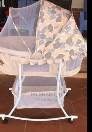 Baby Bed With Laundry Basket Under | Prams & Strollers for sale in Greater Accra, Madina