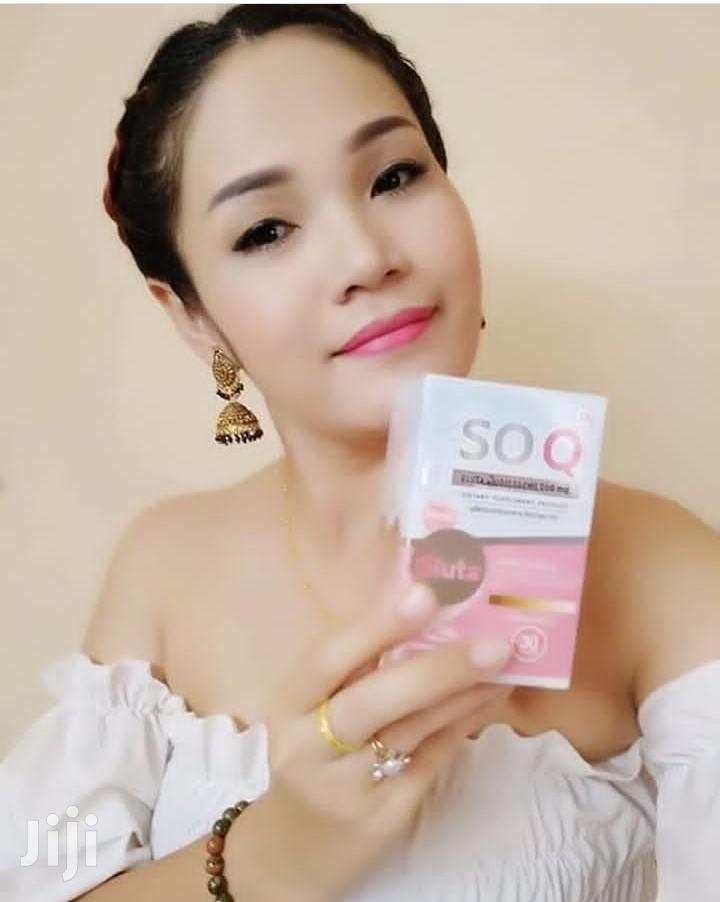 SOQ Gluta Collagen Whitening Pills | Vitamins & Supplements for sale in Kumasi Metropolitan, Ashanti, Ghana