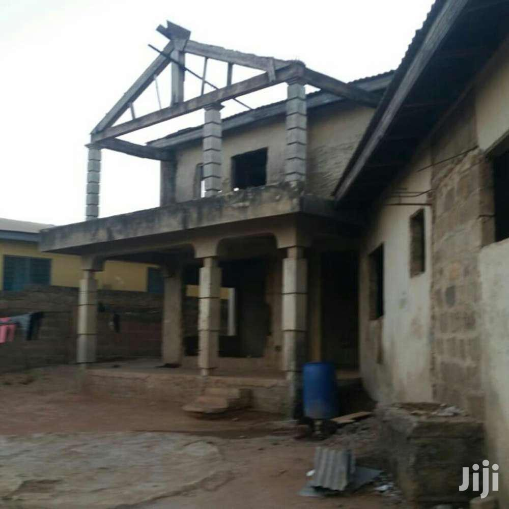5 Bed Uncompleted In Agbogba