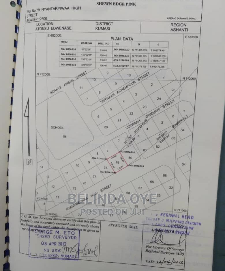 Surveyor Available For Cadastral Plans