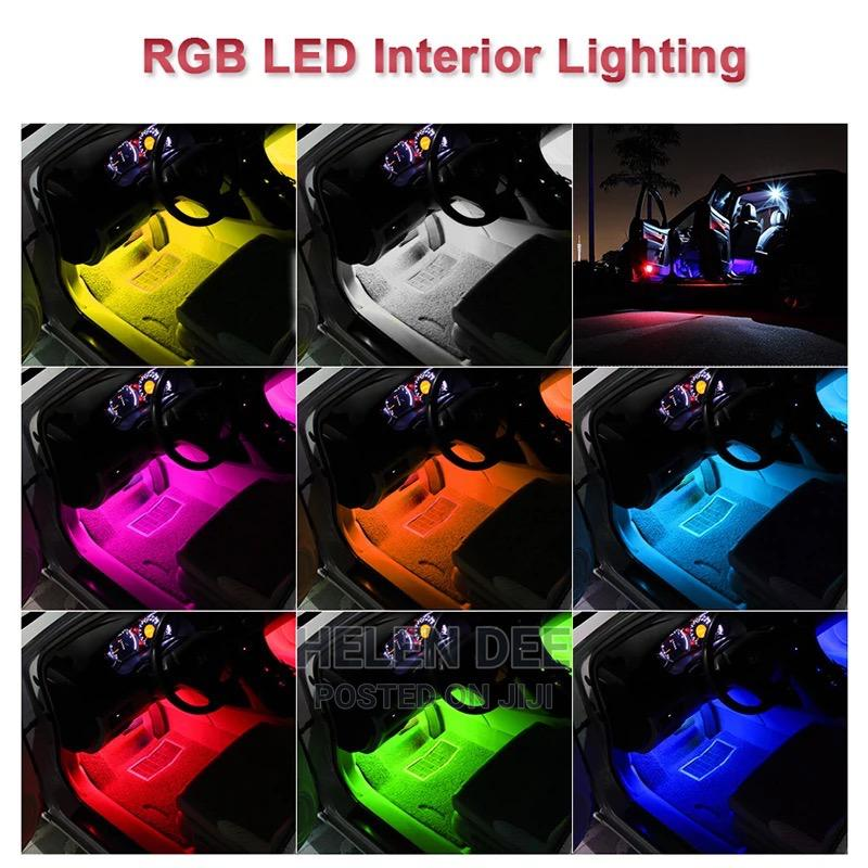 Car Interior LED Foot Decoration Light | Vehicle Parts & Accessories for sale in Kumasi Metropolitan, Ashanti, Ghana