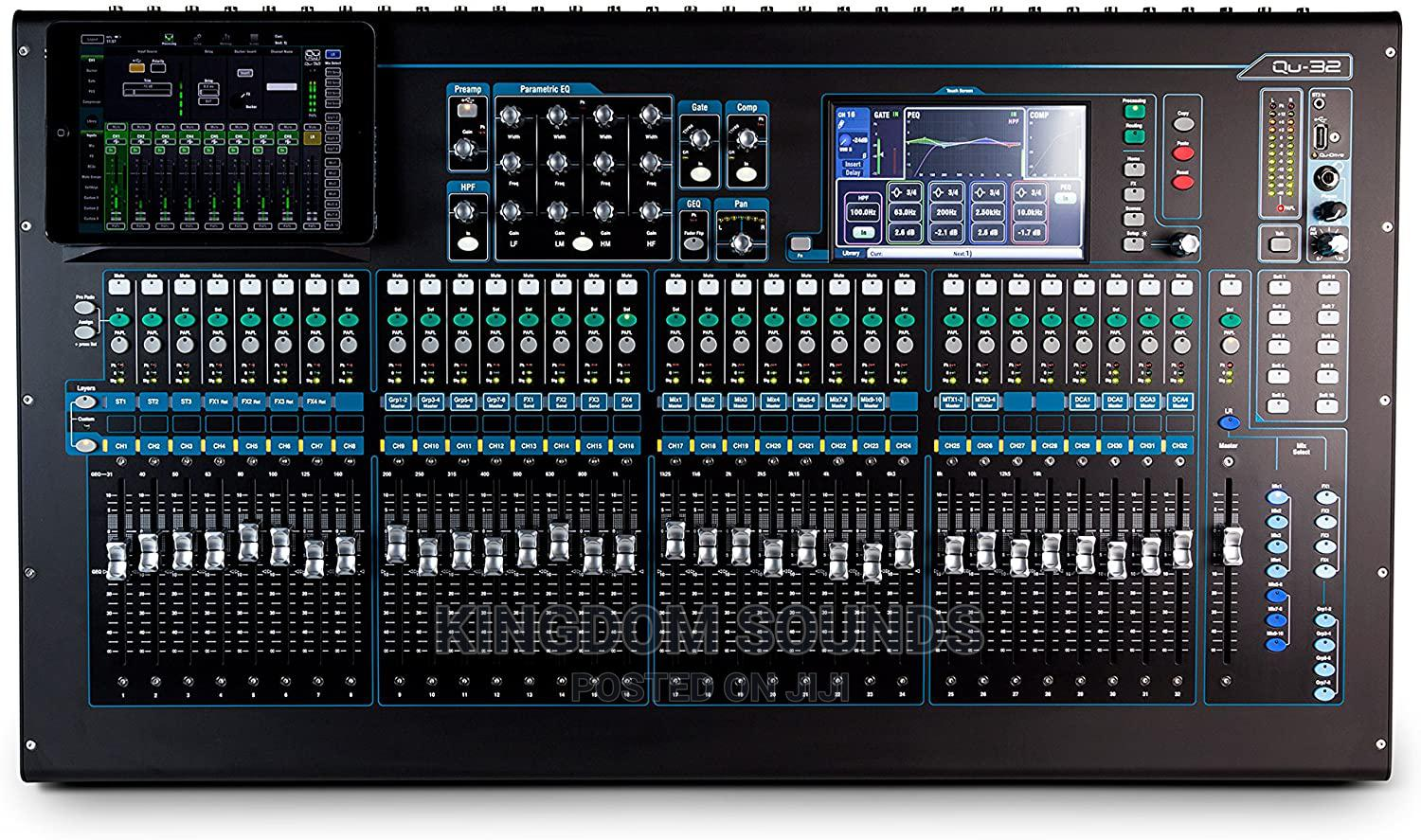 Allen and Heath QU32   Audio & Music Equipment for sale in Avenor Area, Greater Accra, Ghana