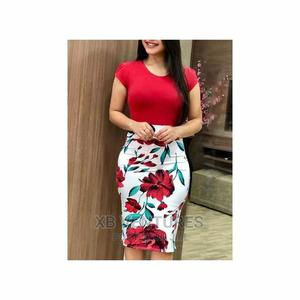 Short Sleeve Bodycon Dress | Clothing for sale in Greater Accra, Dansoman