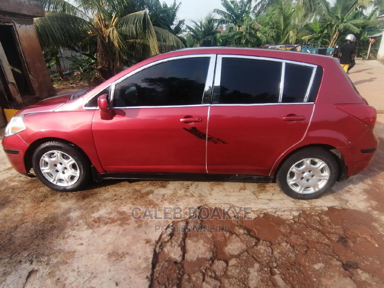 Nissan Versa 2008 1.8 SL Red