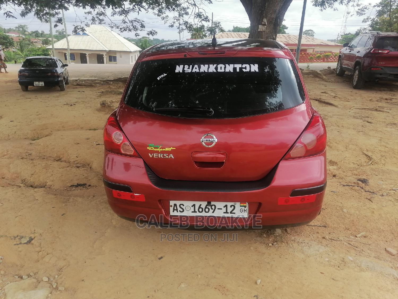 Nissan Versa 2008 1.8 SL Red | Cars for sale in Kumasi Metropolitan, Ashanti, Ghana