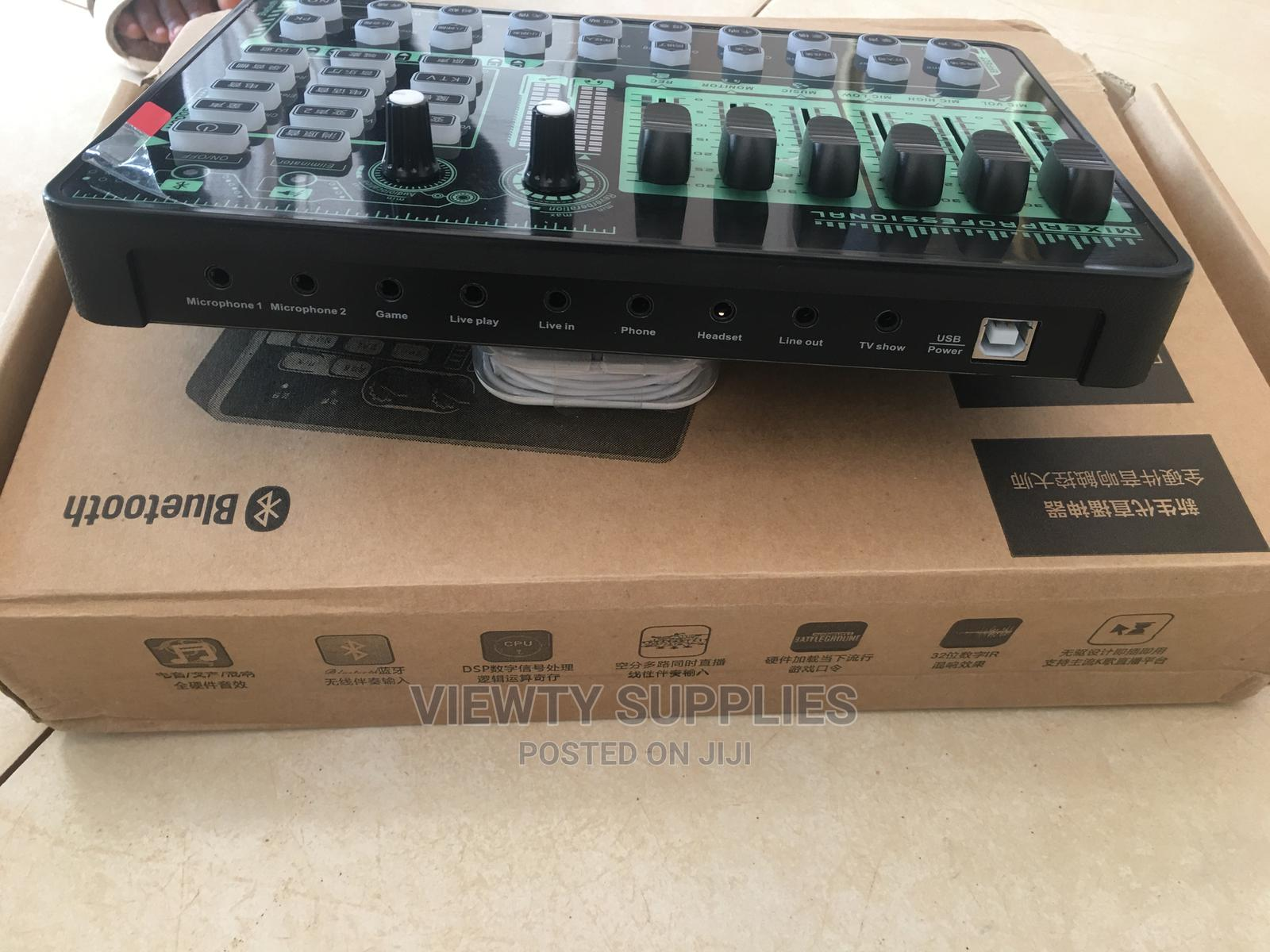 External Studio Sound Card for Recording and Live Streaming   Audio & Music Equipment for sale in Accra Metropolitan, Greater Accra, Ghana