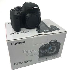 All New Canon EOS 800D 24.2MP Digital Camera | Photo & Video Cameras for sale in Greater Accra, Accra Metropolitan