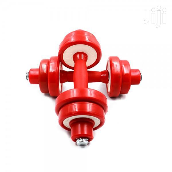 Dumbell 10kg Red