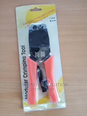 Dual Modular Crimping Tool HT500 8p8c/Rj45 6p6c/Rj12 6P4C   Hand Tools for sale in Greater Accra, Madina