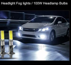 2pcs H1 Car LED Headlight Fog Lights 100W | Vehicle Parts & Accessories for sale in Central Region, Awutu Senya East Municipal