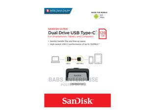 Sandisk Dual Drive USB Type-C 128GB | Computer Accessories  for sale in Greater Accra, Accra Metropolitan